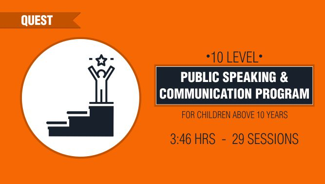 10 Level Public Speaking & Communication Program
