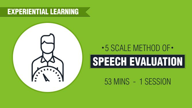 5 Scale Method of Speech Evaluation