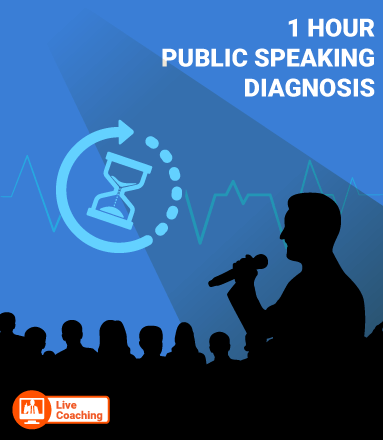 [LIVE PERSONAL COACHING] 60 Min. Public Speaking Stage Diagnosis