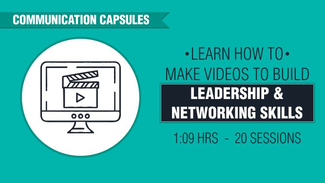 Learn How to Make Videos to Build Leadership