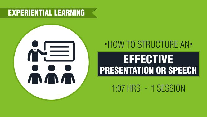 How to Structure an Effective Presentation or Speech